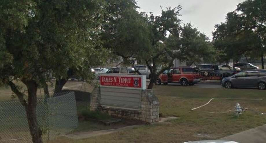 The alleged incidents happened at Tippit Middle School in Georgetown.>>Click to see Texans in trouble for racism. Photo: GoogleMaps