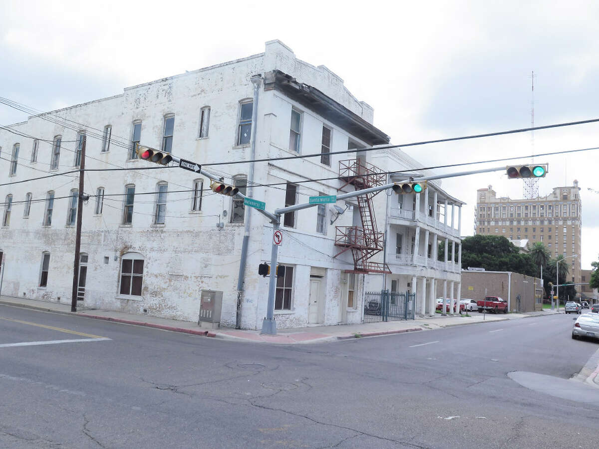 The Bender Hotel, located at the 1400 block of Matamoros Street.