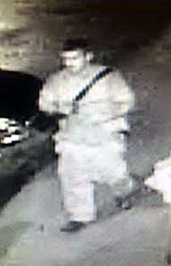 Police are looking for this man who they believe may have been involved in a burglary at the Spic & Span Market early Friday morning. Fairfield, CT. 6/2/17 Photo: Contributed / Contributed Photo / Fairfield Citizen