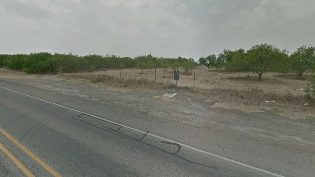 Bustamente, the Texas city where Irvin Garza's body was allegedly dumped, is shown.