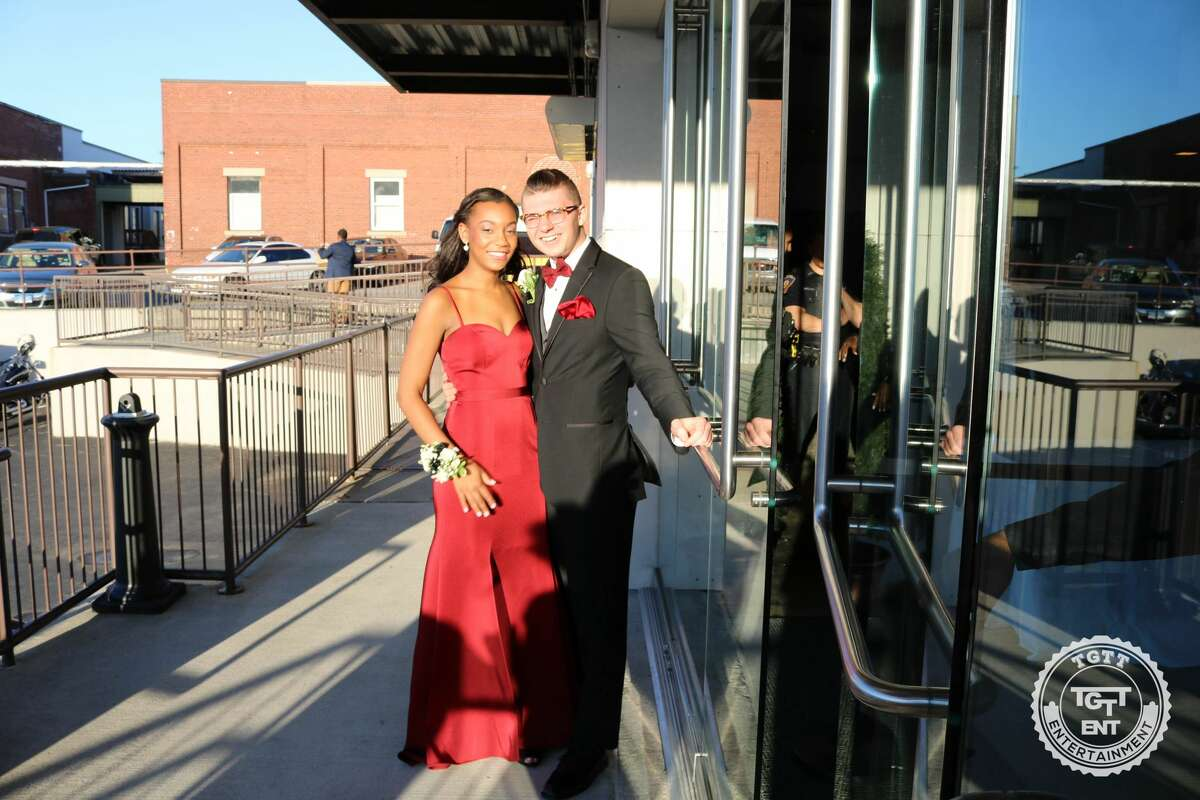 Trend: Red/Burgundy Stamford's Westhill High School held its senior prom at The Loading Dock in Stamford on June 2, 2017.