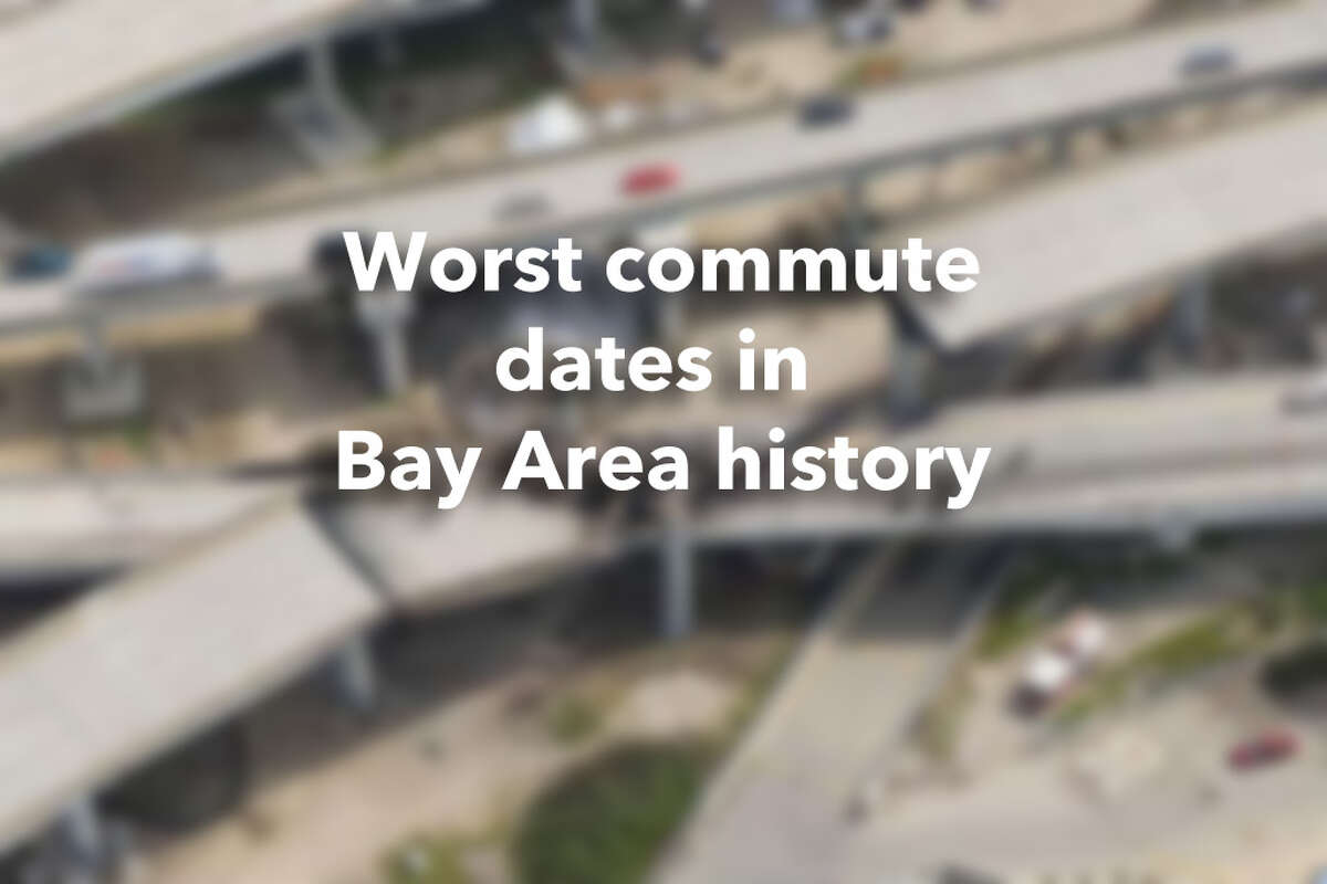 Worst commute dates in Bay Area History