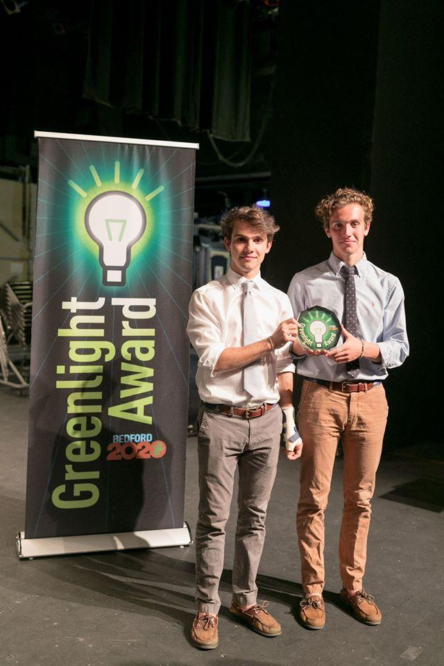 Stamford Twins Win Award For Reusable Plateware Proposal