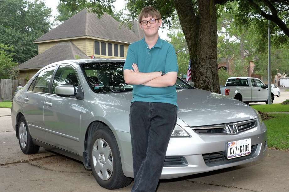 Parker Peddicord, 18, who has symptoms of ADHD and autism, now can drive himself to his job at a Kroger store in Katy and to therapy sessions. Photo: Craig Moseley, Staff / ©2017 Houston Chronicle
