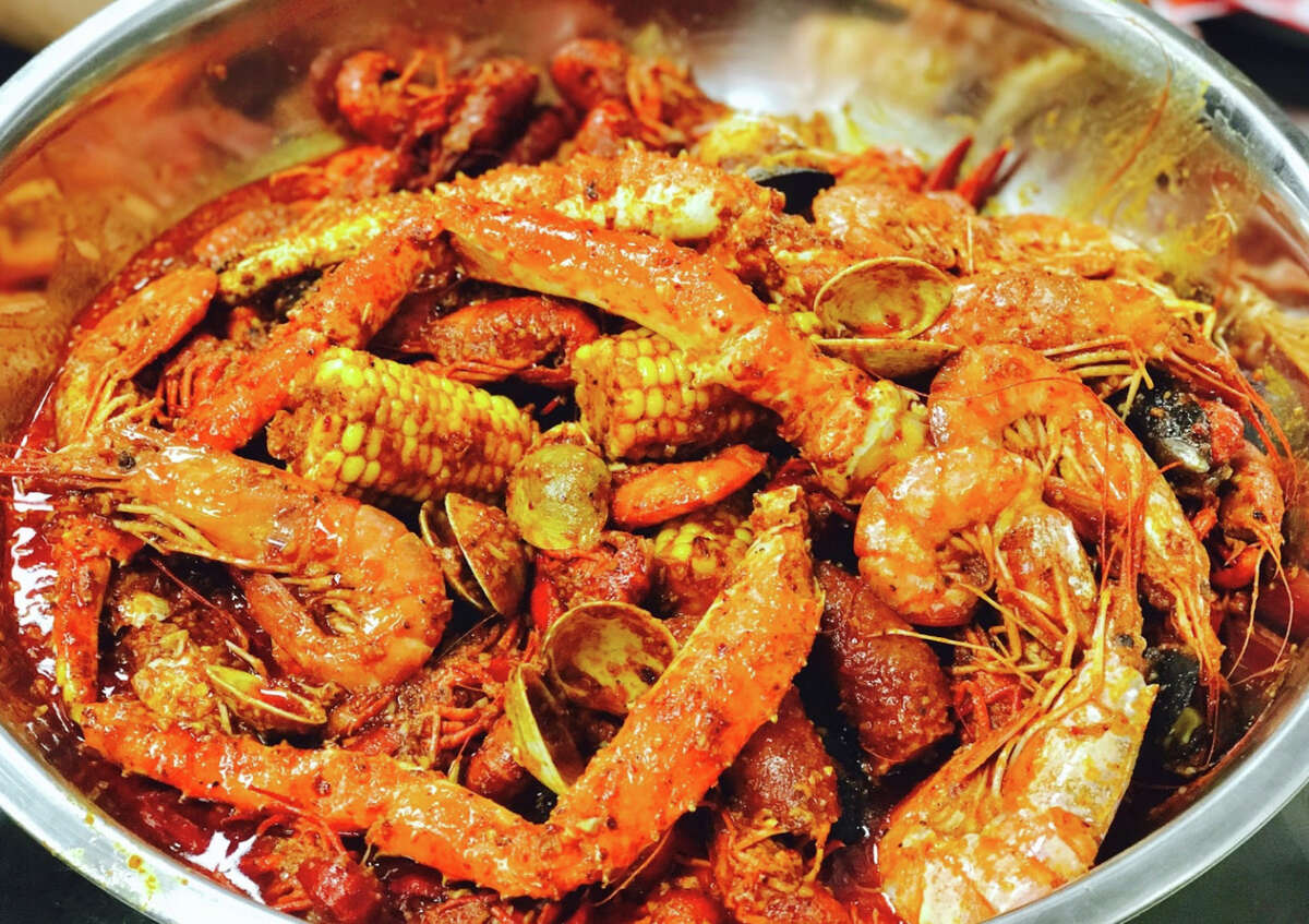 Cajun Crawfish, 5519 W. Loop 1604 N. Suite 102: Owner Henry Le marries the Gulf Coast and Southeast Asia in this new Vietnamese and Creole hybrid restaurant. And please, don't forget to wear the provided plastic bibs as you chow down on giant steel bowls of shellfish doused in Asian spices. 210-233-1030. Facebook: Cajun Crawfish San Antonio