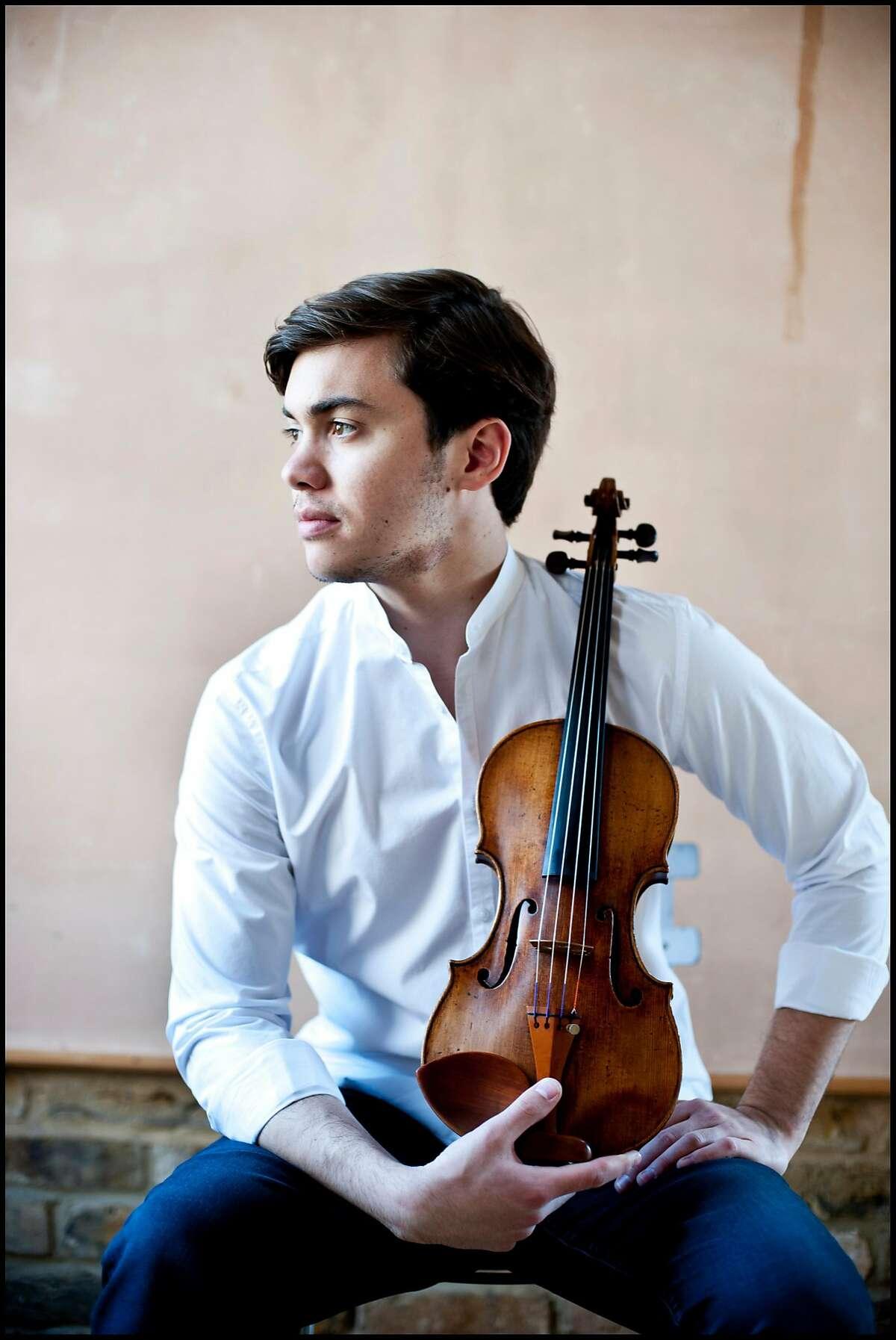 Violinist Benjamin Beilman