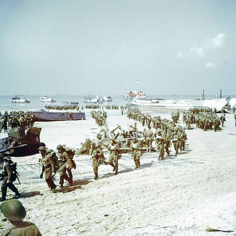 D-day in color - Houston Chronicle