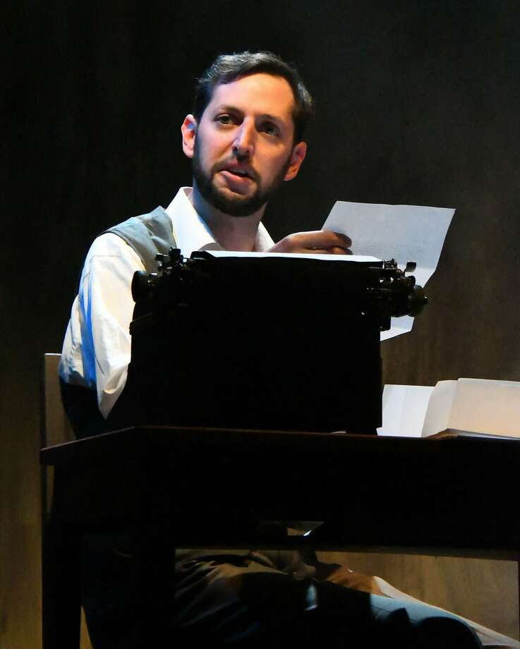 "Chris Morrell stars as Howard in the adaptation of Vonnegut's ""Mother Night."" Photo: Jay Yamada, Custom Made Theatre Company"