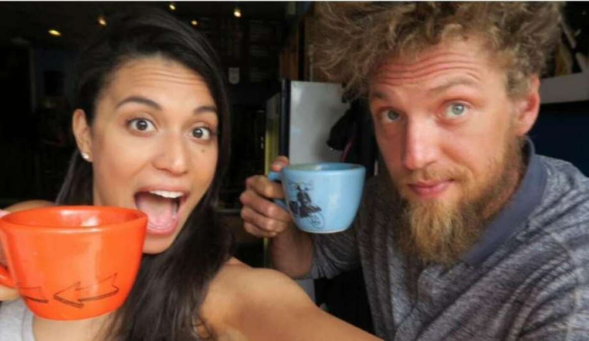 Hunter Pence, pictured with his wife, Alexis, is opening Coral Sword, a gamer-focused coffee shop in Houston.