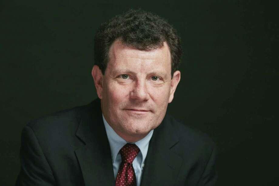 Nicholas D. Kristof (CREDIT: Damon Winter/The New York Times) / Stratford Booster Club