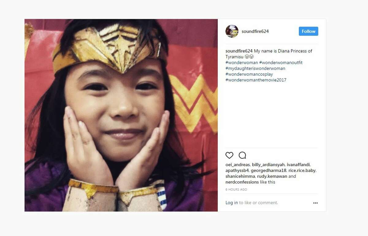 My name is Diana Princess of Tyramisu ???????? #wonderwoman #wonderwomanoutfit #mydaughteriswonderwoman #wonderwomancosplay #wonderwomanthemovie2017 A post shared by Ivan Christian (@soundfire624) on Jun 5, 2017 at 8:11am PDT