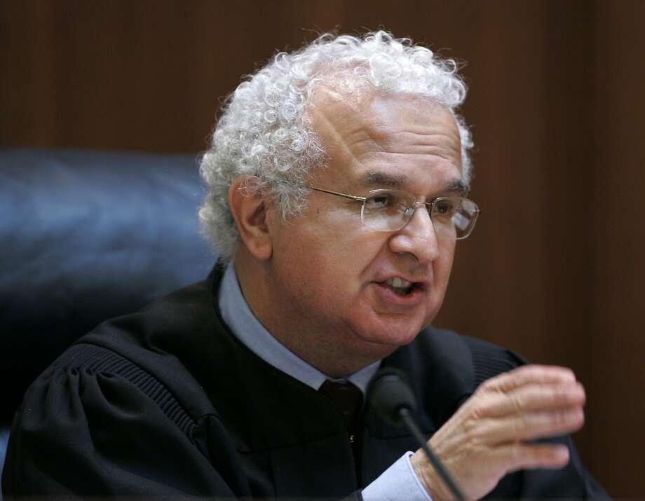 Former California Supreme Court Justice Carlos Moreno in 2008. Photo: Paul Sakuma, AP