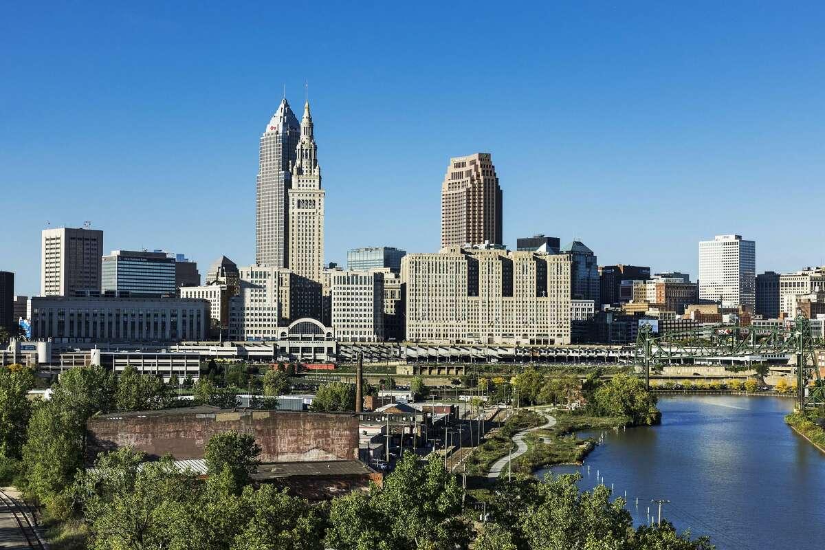 25. Cleveland, Ohio Average roundtrip commute time: 42 minutes