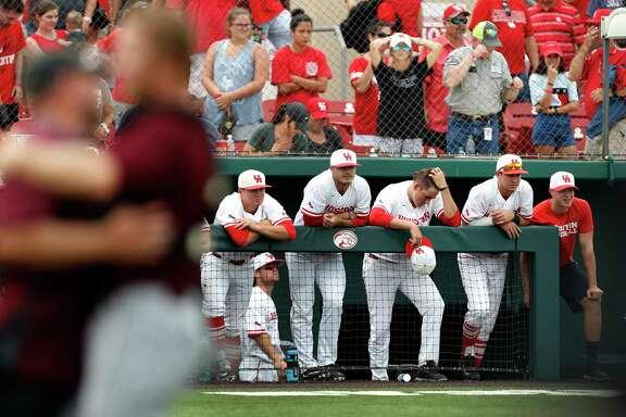It was painful for UH players to watch A&M celebrate winning a regional on the Cougars' home field.