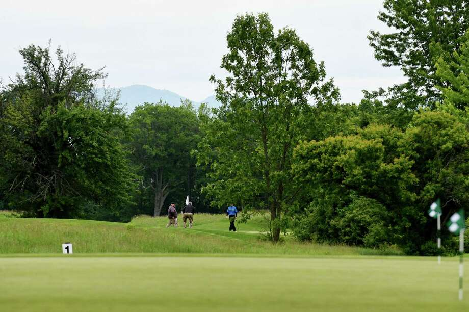 Golfers play the course at Fairways Golf Course on Monday, June 5, 2017, in Halfmoon, N.Y.  The course owner is planning to add a brew pub to the property, which has upset some neighbors. (Will Waldron/Times Union) Photo: Will Waldron / 40040686A