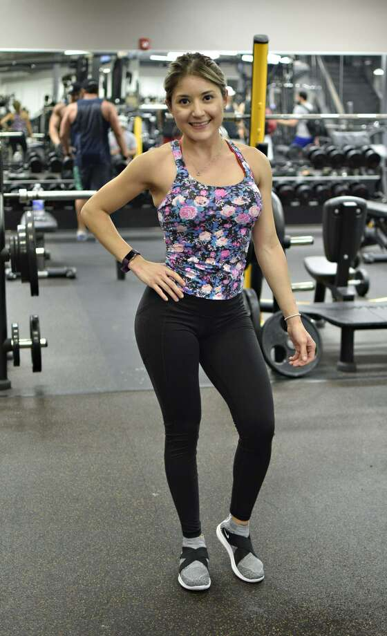 Vanessa Gamez is preparing for her third competition heading to the NPC Battle on the Bay July 8. Photo: Ulysses S. Romero / Laredo Morning Times / Laredo Morning Times