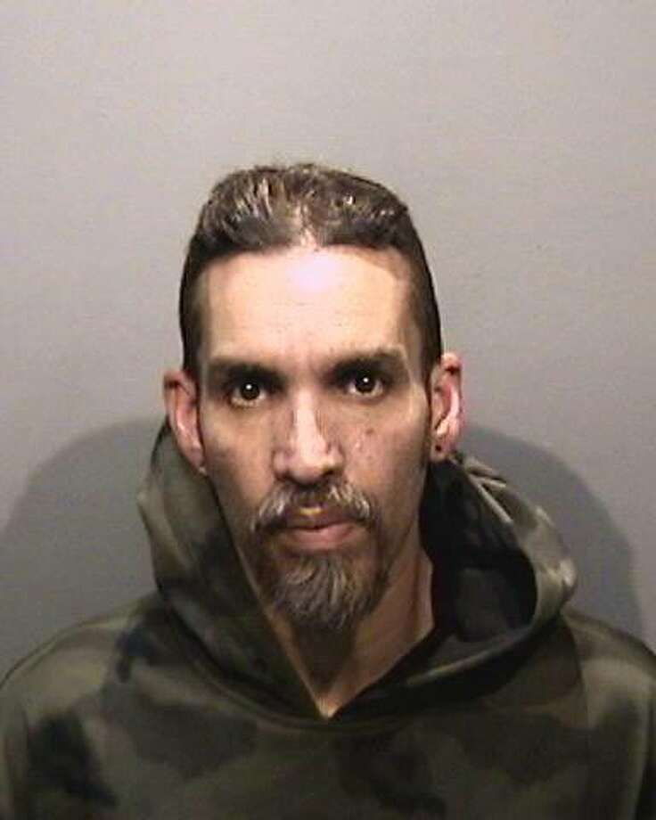 Derick Almena, the master tenant of the Ghost Ship warehouse in Oakland, Calif., where 36 people died in a fire in December 2016, was arrested Monday, June 5, 2017. The art space's creative director, Max Harris, was also arrested and the pair were charged with felony involuntary manslaughter. Photo: Courtesy Alameda County Sheriffs Office