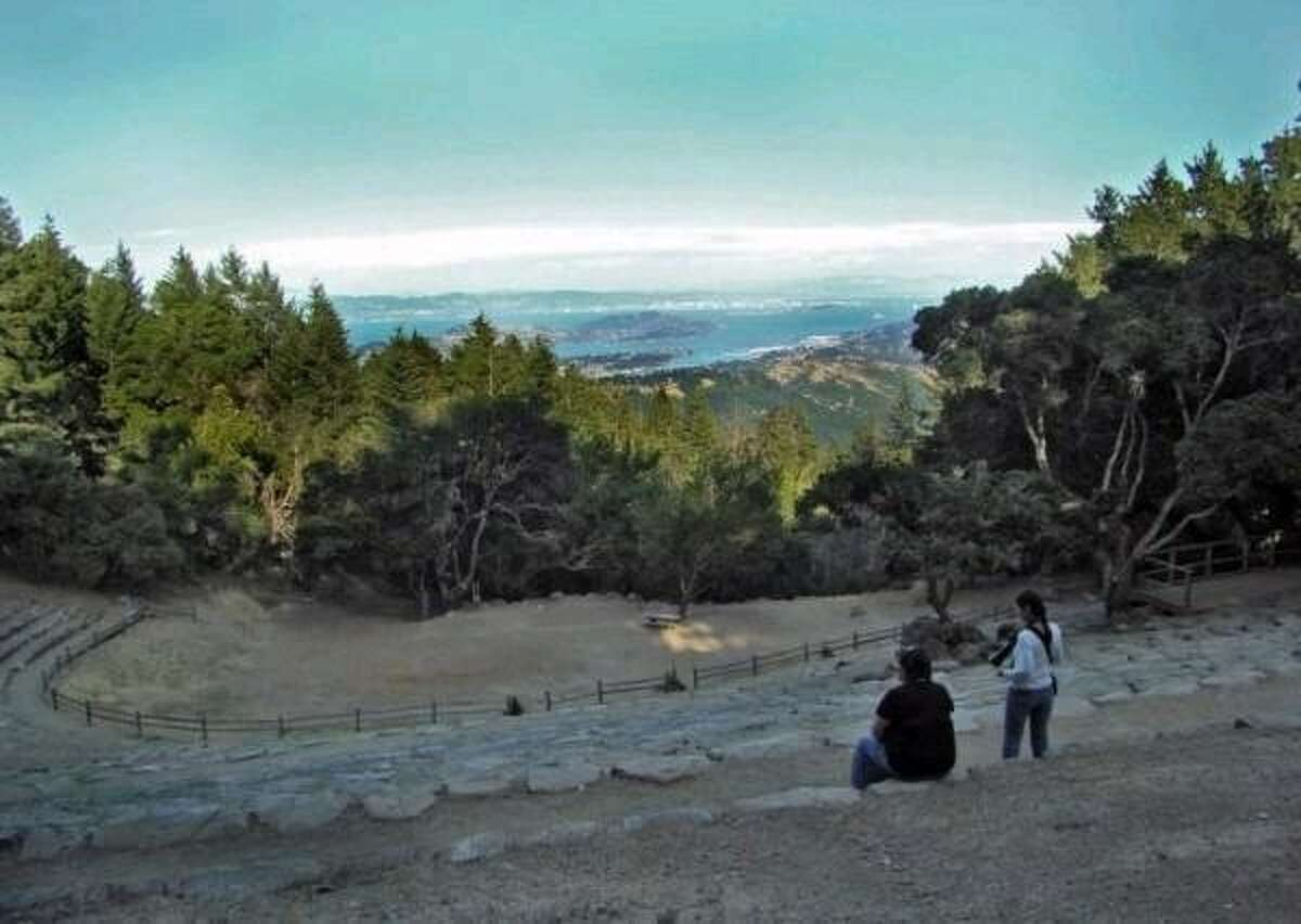 View from Mountain Theater overlooking San Francisco Bay