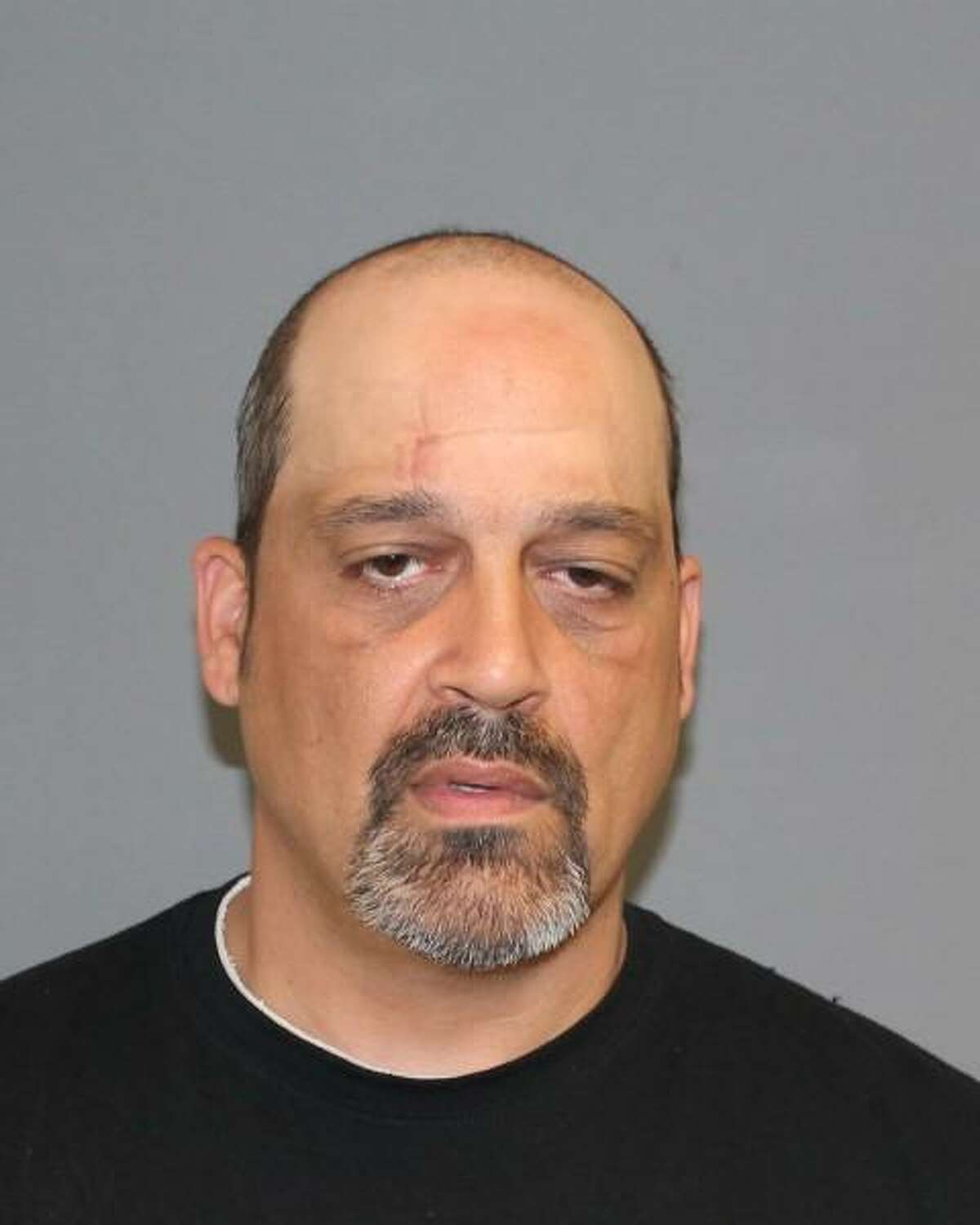 Michael Petro, 45, of Oakville, was charged with third-degree burglary and third-degree burglary in connection with the theft of equipment from Perkin and Elmer on Bridgeport Avenue in Shelton. He was arrested on Sunday. June 4. 2017.