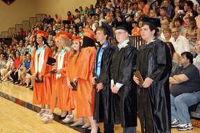Harbor Beach's Class of 2017 graduates.