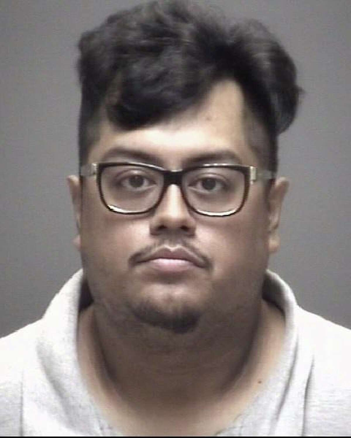 Jose Sanchez, 32, is charged with drug possession in Galveston County. He is being held in the Galveston County Jail on a bond of $300,000.