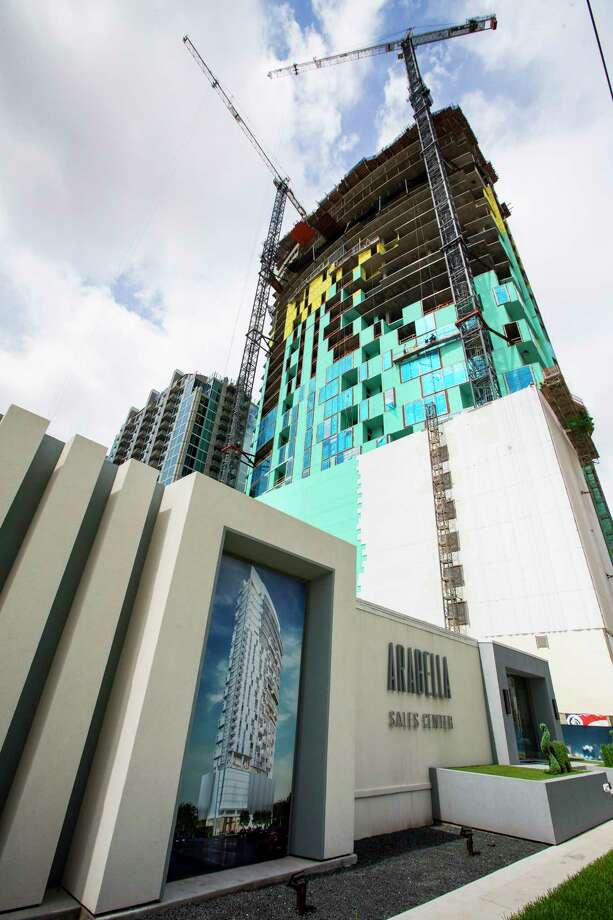 Arabella, condominium tower, is shown on Friday, June 2, 2017, in Houston. Arabella is one of the newest high-rise condominium towers being developed in the Galleria area. Photo: Brett Coomer, Houston Chronicle / © 2017 Houston Chronicle