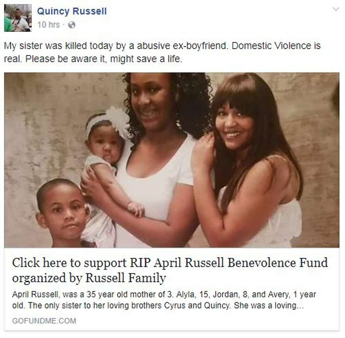 After news of April Russell's death spread, tributes poured in for the San Antonio mother who was fatally shot in an alleged domestic violence incident on Monday, June 5, 2017.