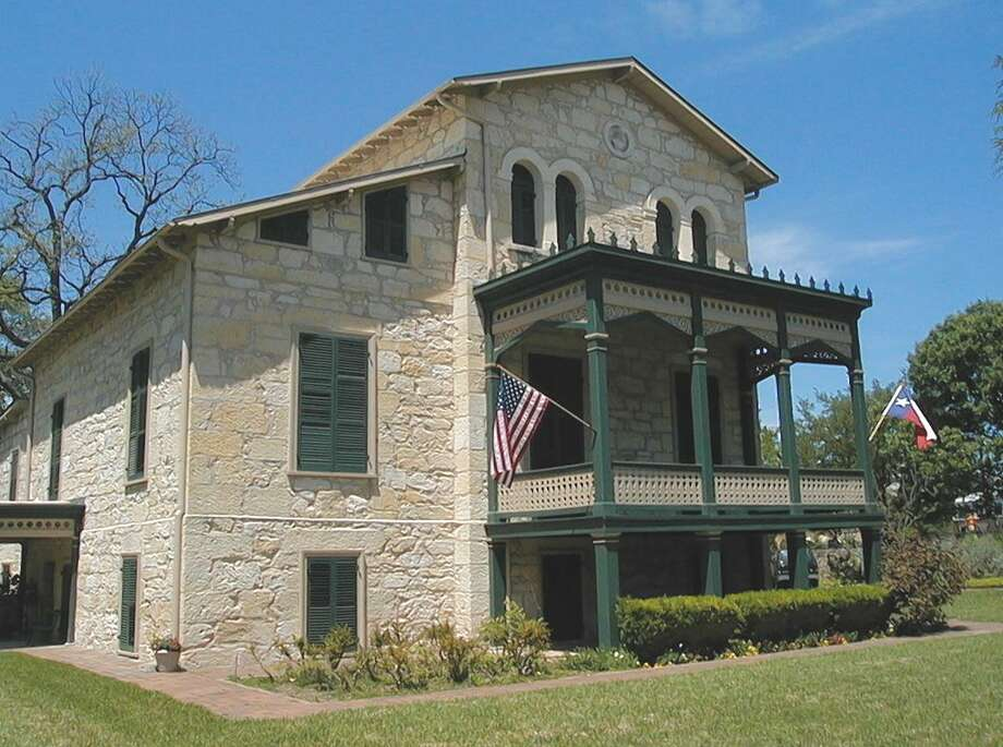 The Wulff House, owned by the San Antonio Conservation Society. Photo: Courtesy Ron Bauml / San Antonio Conservation Society Foundation