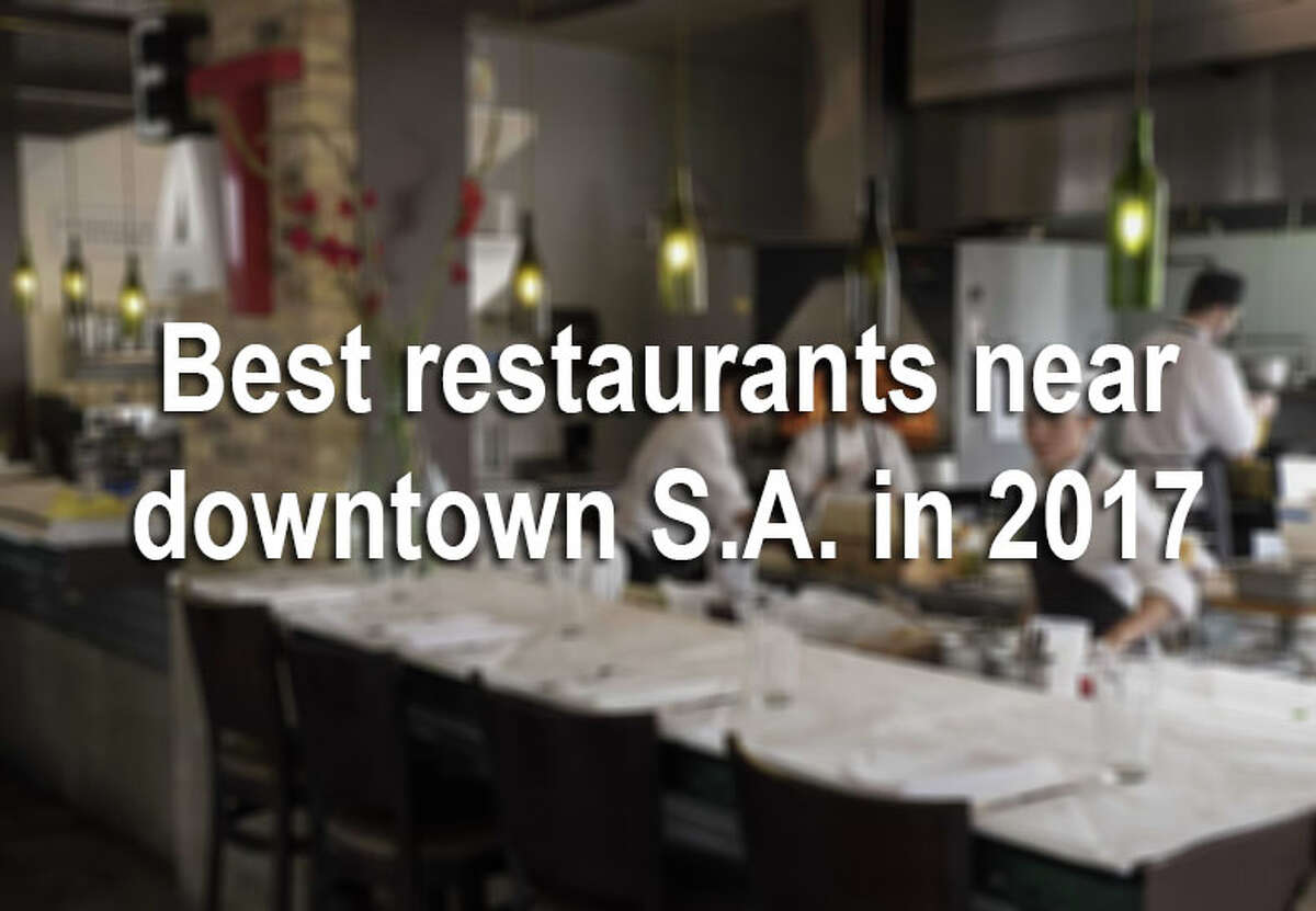No matter what your opinion is, the heart of the Alamo City is packed with some of the city's best restaurants and bars. We sifted through the critics-choice list of best restaurants in 2017 to find the places in downtown or just a short drive from it. See the best bars, bakeries, coffee shops and restaurants to try during your downtown excursion in the gallery.