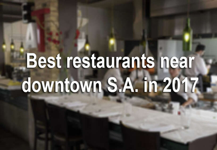 No matter what your opinion is, the heart of the Alamo City is packed with some of the city's best restaurants and bars. We sifted through the critics-choice list of best restaurants in 2017 to find the places in downtown or just a short drive from it. See the best bars, bakeries, coffee shops and restaurants to try during your downtown excursion in the gallery. Photo: Darren Abate/For The Express-News