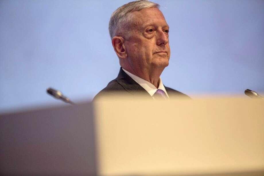 Defense Secretary Jim Mattis says the U.S. will stay an international leader. Photo: Bloomberg News / Blooomberg