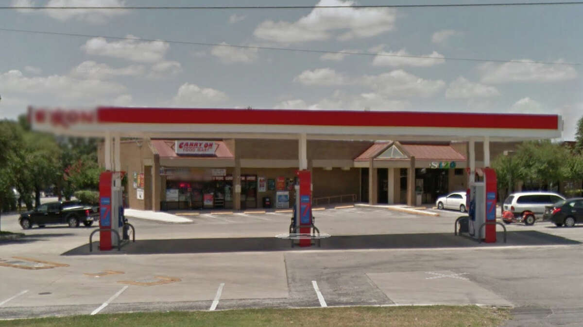 Carry On Food Mart: 4447 De Zavala Road, San Antonio, TX 78249 Date: 11/16/2017 Score: 79 Highlights: Food not held at correct temperature (hot dogs, tacos, relish, salsa); poisonous/toxic materials seen stored near food prep area; hot water not available at three-compartment sink; accurate thermometers not found in coolers; utensils must be stored on clean, dry surface (ice scoop); single-use spoons stored with food-contact surfaces exposed; baseboards in men's restroom must be smooth, easily cleanable; most recent inspection report must be posted for customer view