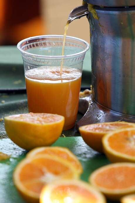 The American Academy of Pediatrics recently unveiled new guidelines on how much orange, apple and other kinds of juice children should drink. Photo: Jerry Lara /San Antonio Express-News / SAN ANTONIO EXPRESS-NEWS