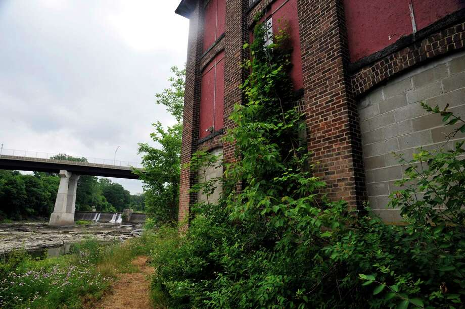 A view of the former Thompson textile mill site on Tuesday, June 28, 2016, in Valley Falls, N.Y.    (Paul Buckowski / Times Union) Photo: PAUL BUCKOWSKI / 40037093A