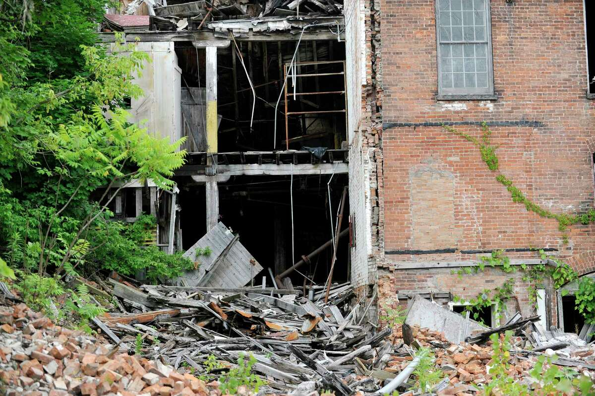 A view of the former Thompson textile mill site on Tuesday, June 28, 2016, in Valley Falls, N.Y. (Paul Buckowski / Times Union)