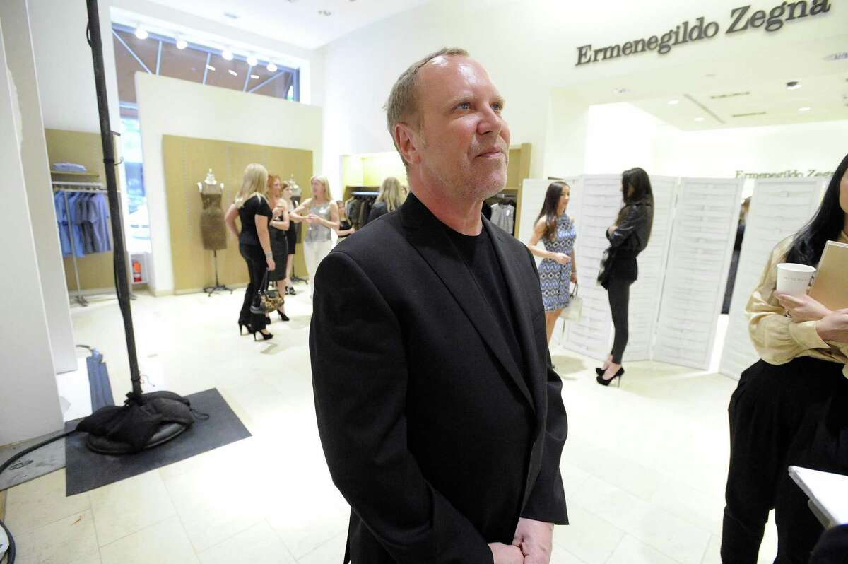 World-renowned designer Michael Kors prepares to recreate his Bryant Park Fashion Week 2010 show presenting his fall collection at Richards of Greenwich Tuesday, May 11, 2010. After the show Kors held a trunk show greeting flocks of shoppers. The trunk show will be hosted by Kors associates at Richards running through Thursday and then move to Mitchells in Westport for Friday and Saturday.