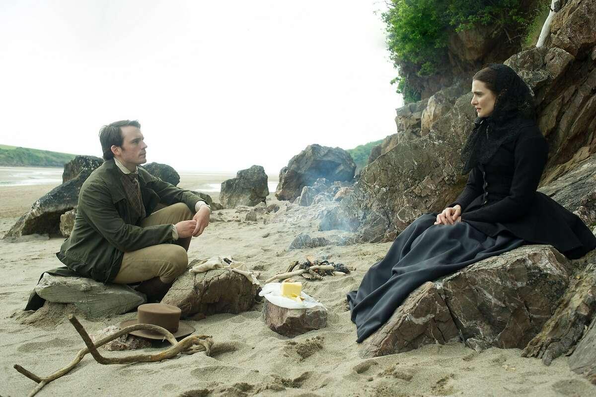 Sam Claflin and Rachel Weisz in the film,