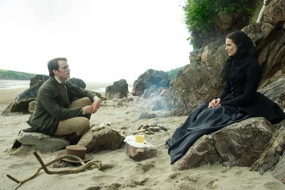 "Sam Claflin and Rachel Weisz in the film, ""My Cousin Rachel."" (Nicola Dove/Fox Searchlight)"