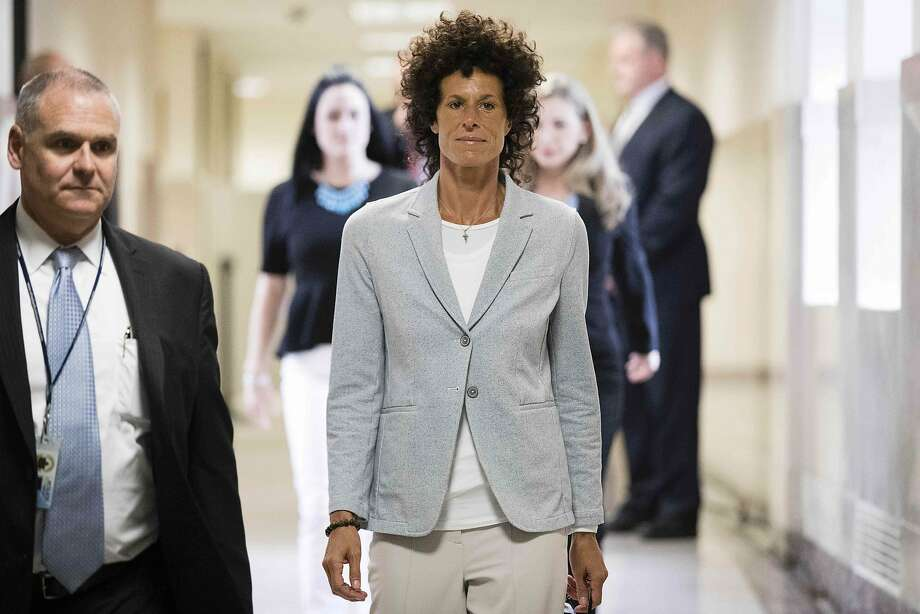 Andrea Constand walks to the courtroom in Norristown, Pa., where she testified that Bill Cosby assaulted her after plying her with drugs at his suburban Philadelphia home in 2004. Photo: MATT ROURKE, AFP/Getty Images