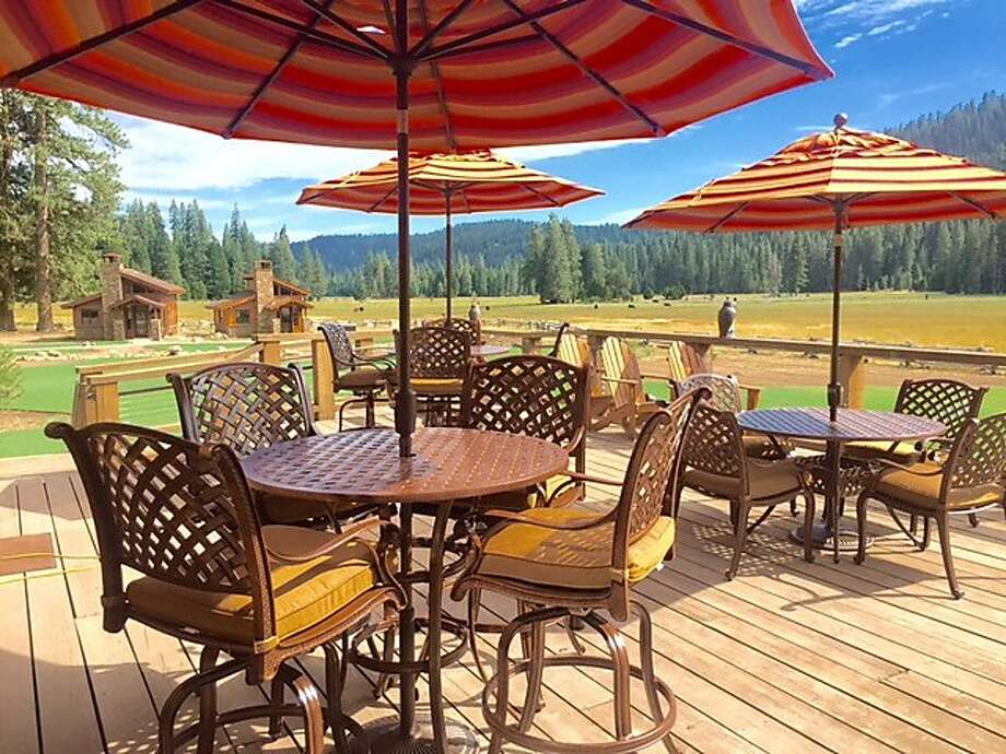 Highland Ranch is arustic-luxe resort with a dude ranch vibe. Glaciers and geothermal springs of Lassen are just 10 minutes away. Photo: Highland Ranch Resort