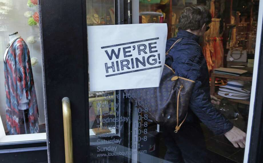 In April, U.S. employers advertised the most open jobs in 16 years, yet hiring fell and fewer people quit work. The figures suggest that businesses are struggling to find qualified employees as the unemployment rate declines. Photo: Associated Press File Photo / Copyright 2016 The Associated Press. All rights reserved. This material may not be published, broadcast, rewritten or redistribu