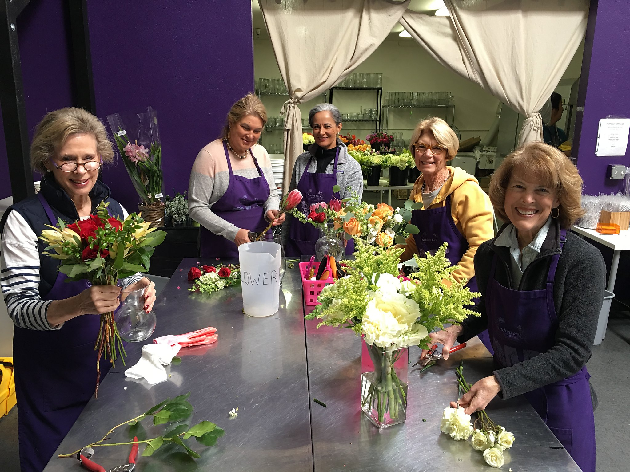 Random Acts of Flowers brings extra kindness to Silicon Valley San Francisc