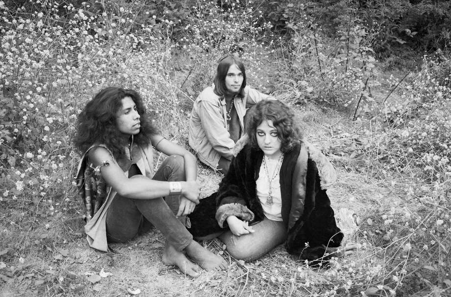 A photo by Baron Wolman from the 1960s chronicling the hippie music and fashion scene in the Bay Area. Photo: Baron Wolman
