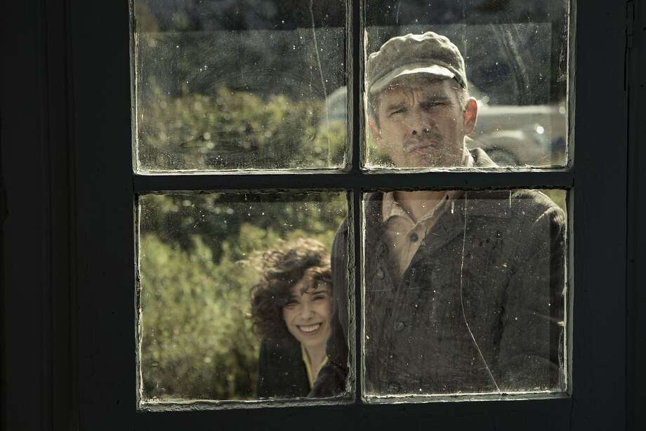"""Sally Hawkins (left) and Ethan Hawke in the upcoming Maudie Lewis biopic, """"Maudie."""" Photo: Courtesy Of Sony Classics"""