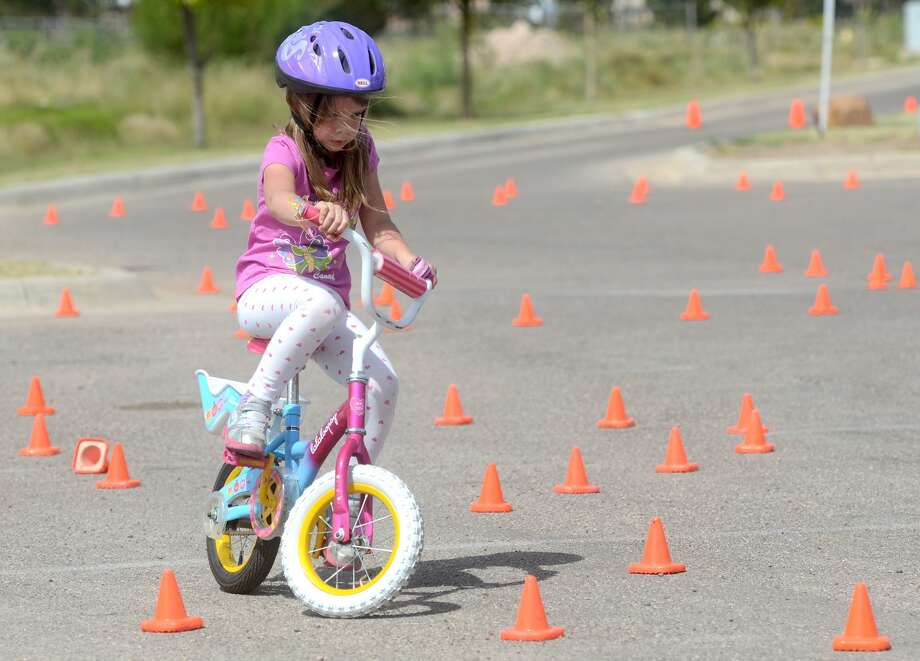 As part of Pirate's Weekend in Milford, there will be a Bike Rodeo for the little pirates on Sunday, June 11 from 10 a.m. to noon in the Milford Bank parking lot. There will be several stations set up to help kids ride safely this summer. Photo: James Durbin / James Durbin / © 2014 Midland Reporter Telegram. All Rights Reserved.