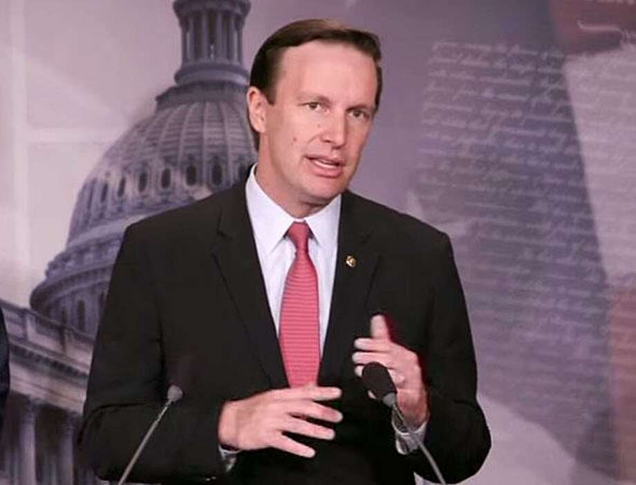 U.S. Sen. Chris Murphy, D-Conn., spoke against the Congressional Republicans' American Health Care Act in Washington, D.C. on Tuesday, June 6, 2017 Photo: Contributed Photo / Contributed Photo / Connecticut Post Contributed