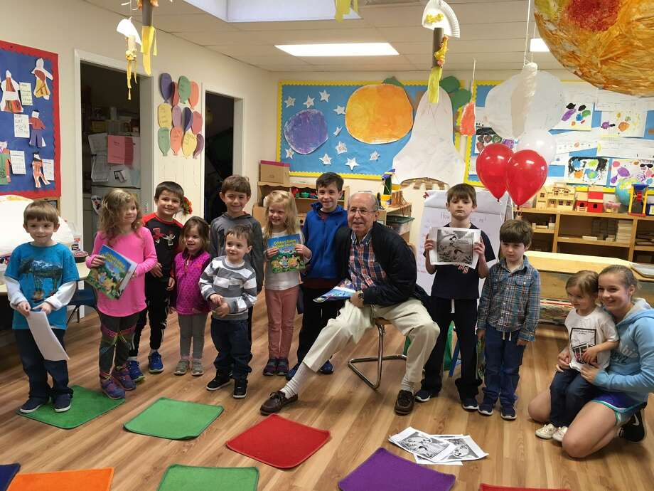Community Nursery School Of Wilton Recently Welcomed Author And Longtime Resident Kirk Eason For A Reading