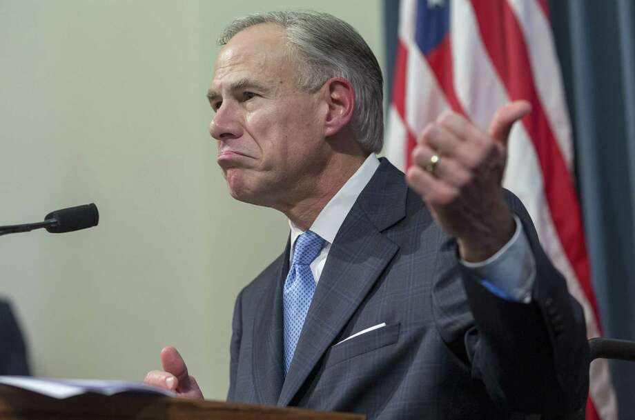 Governor Greg Abbott announces a special session will occur on July 18 during a press conference at the Texas Capitol in Austin, Tuesday, June 6, 2017. (Stephen Spillman for Express-News) Photo: Stephen Spillman / Stephen Spillman / stephenspillman@me.com Stephen Spillman
