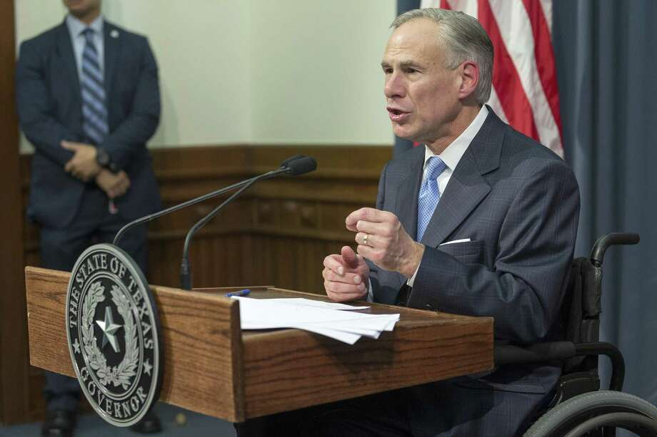 Gov. Greg Abbott announces earlier this month that a special legislative session will start July 18. Photo: Stephen Spillman /for The San Antonio Express-News / stephenspillman@me.com Stephen Spillman