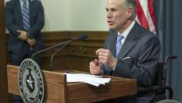 Gov. Greg Abbott announces earlier this month that a special legislative session will start July 18.